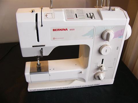 Bernina 1001 instruction manual