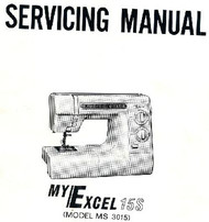 Husqvarna Viking Service manual