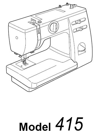 janome 2139n sewing machine manual