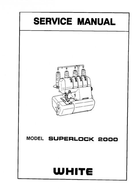 White Superlock 2000