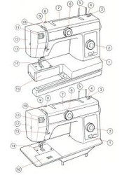Janome - New Home 105 106 Sewing Machine Instruction Manual