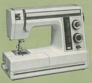 Janome Newhome SW-2018E Sewing Machine Instruction Manual