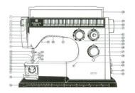 Husqvarna Viking SL-6000 6460  Sewing machine instruction manual