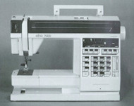Elna 7000 Sewing machine instruction manual 1