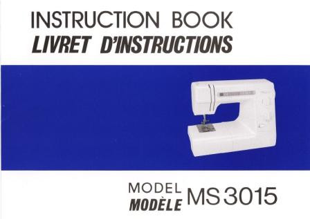 Janome Scan And Sew Manual