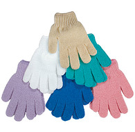 Kingsley Exfoliating Nylon Mesh Gloves