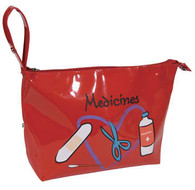 Travel/Cosmetics Bag Medicine Theme