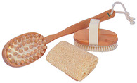 3 Piece Bath Brush set