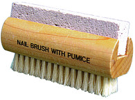 Natural Bristle Brush with Pumice Stone