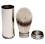 Pure Bristle Travel Shave Brush