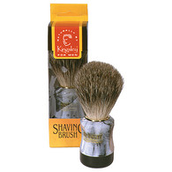 Badger Bristile Marbleized Handle Shaving Brush