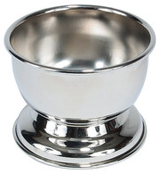Silver Plated Shave Soap Bowl