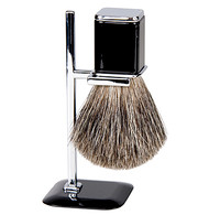Badger Shave Brush With Stand