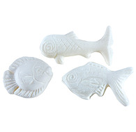 Fish Shaped Soaps - White