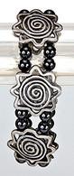 Magnetic Therapy Bracelet Flower Design
