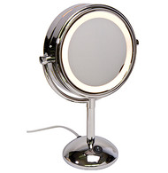 Lighted Round Vanity Mirror