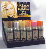 Jerome Russel B Blonde Temporary Hair Highlighting Spray 36PC Display