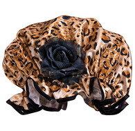 Fancy Shower Caps Leopard Design