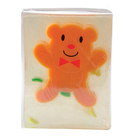 Pure Glycerine Soap Brown Bear Design