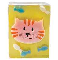 Pure Glycerine Soap Cat Design