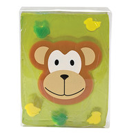 Pure Glycerine Soap Monkey Design