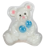 Pure Glycerine Soap White Bear Design
