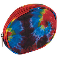 Travel Cosmetics Bag Tie Dye Design