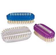 Brite Colored Natural Bristle Nail Brushes