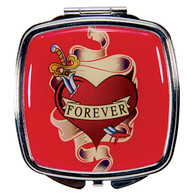 Tattoo Forever Design Compact Mirror