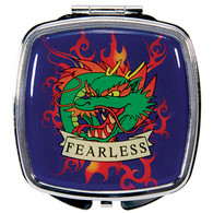 Tattoo Fearless Design Compact Mirror