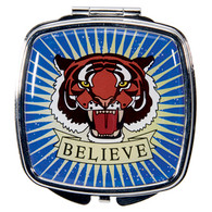 Tattoo Believe Design Compact Mirror