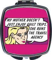 Feminista My Mother Design Compact Mirror