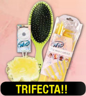 Trifecta Wet Brush Puff and Comb Kit