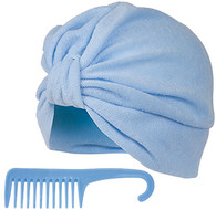 Terry Turban and Detangling Comb Set