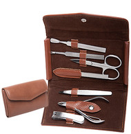 Pleather Manicure Set