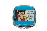 Feminista Im Still Hot Design Compact Mirror