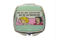 Feminista Networking Design Compact Mirror
