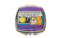 Feminista Good Old Days Design Compact Mirror
