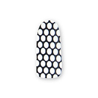 Nail Wrapz - Spotty Dotty Black and White