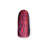 Nail Wrapz- Snakeskin Red
