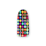 Nail Wrapz- Multicolored Dots