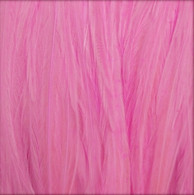 Long Solid Pink Feather Extensions