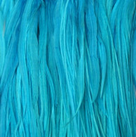 Long Solid Teal Feather Extensions