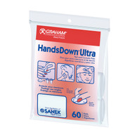 Graham Professional HandsDown Ultra Nail and Cosmetic Pads 60 Pack