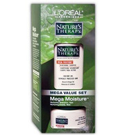 L'Oreal Natures Therapy Mega Moisture Nurturing Shampoo and Creme Value Set