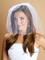 1-Layer Illusion Birdcage Blusher Wedding Veil