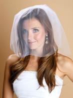 1-Layer Illusion Birdcage Blusher Wedding Veil
