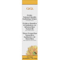 "GIGI Natural Muslin Strips Petite .75 X 4.5"" 100/PK"