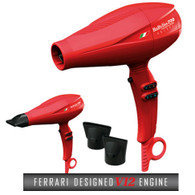 "Buy 1 Babyliss Pro Volare Ferrari Blow Dryer Get 1 Babyliss Pro Nano Titanium 2"" Rotating Hot Air Brush Free"