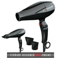Babyliss Pro Volare V1 Ferrari Full Sized Blow Dryer Black